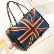 British Style Retro the Union Jack Print Handbag Shoulder Bag