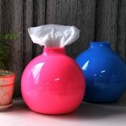 Paper Pot Toilet Paper and Tissue Paper Holder(Color randomly)