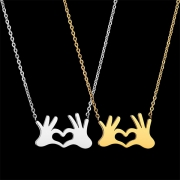 Chic Style Both-hands Pendant Alloy Necklace