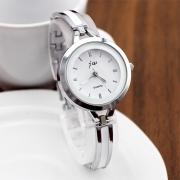 Fashion Alloy Watch Band Round Dial Quartz Watches