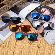 Fashion Thick Frame UV Sunglasses
