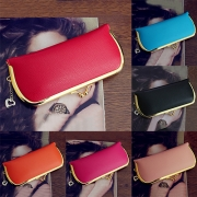 Elegant Solid Color Hasp Wallet For Women