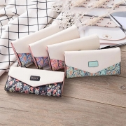 Fashion Printed Long-style Wallet