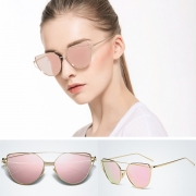 Retro Style Full Frame Anti-UV Sunglasses