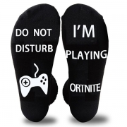 Fashion Letters Printed Breathable Socks-2 pair/Set