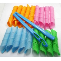 18pcs Hair Rollers Snail Rolls Styling Curler Tools, Easy At Home DIY Natural Way