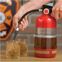Fire Extinguisher Drink Dispenser