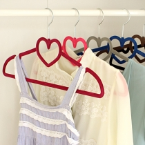TOP QUALITY Velvet Clothes Hangers - 'Love Hangers' - Very Strong, Slim, Space-Saving, Bulk Sets of 10 - 100% SATISFACTION GUARANTEE