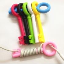 Cute Cable Tie 5-psc Key Cord Organizer Earphone Wrap Winder(Color randomly)