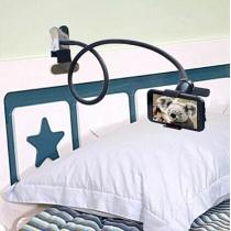 360 Degree Rotating Adjustable Bed Desk Clip-style Phone Holder