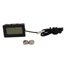 Digital temperature meter with remote temp sensor-5M
