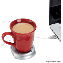 Laptop Buddy USB Powered Beverage Warmer with 4 Port Hub USB Four Port   Hub
