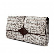Fashion Stone Pattern Envelope Clutch