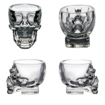 Creative Crystal Skull Shot Glass Cup Novetly