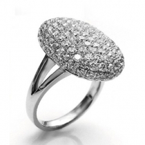 Fashion Twilight Rhinestone Wedding Ring