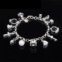 Fashion Various Pendants Bracelet