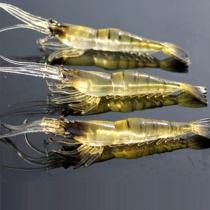 4cm Artificial Vivid Shrimp Soft Bait Fishing Lure