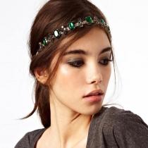 Retro Style Turquoise Headband