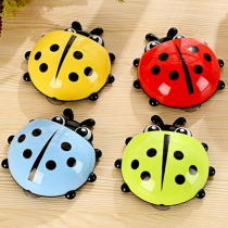 Cute Ladybug-shaped Sucker-style Toothbrush Holder