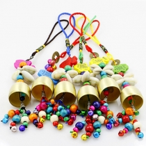 Colorful Copper Bells Phone Strap Handicraft