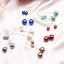 Fashion All-match Pearls Earrings