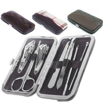7 In 1 Nail Tools Portable Manicure Set with Box