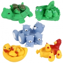 Cute Animals Toys Baby Bathing Toys