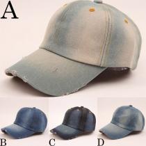 Retro Style Unisex Denim Hat