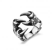 Retro Style Men's Titanium Steel Ring