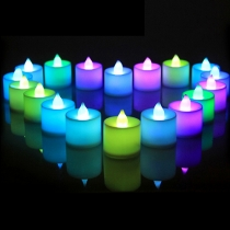 Environmental Protection Colorful Electronic Candle