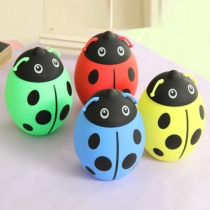 Creative Style Eco-Friendly Ladybird Silicone Case Glass Cup