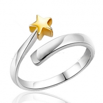 Fashion Star Shaped Open Ring