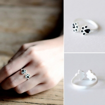 Cute Style Cat Claws Adjustable Size Ring