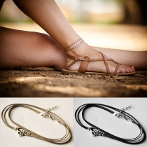 Bohemian Style Multilayer Anklet