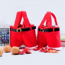 Red Candy Pouch Christmas Weddings Gift Bags