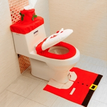 4pcs/Set Toilet Cover Decoration