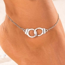 Chic Style Handcuffs Pendant Anklet
