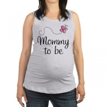 Casual Style Letters Printed Maternity Tank Dress