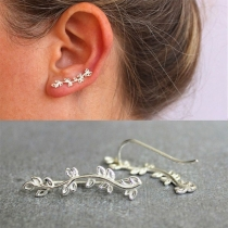 Chic Style Tree-branch Shaped Stud Earrings