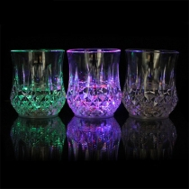 Fashion Colorful LED Inductive Cup