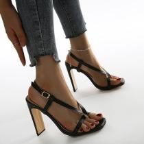 Fashion High-heeled Thong Sandals