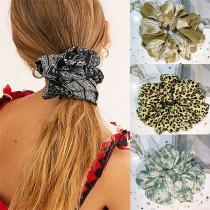 Fashion Printed Elastic Hair Rope