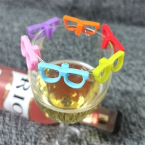 Creative Style Glasses Shaped Drink Maker 6 pcs/Set