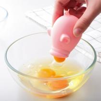 Cute Style Animal Shaped Egg Yolk Egg White Silicone Separator