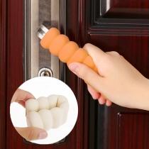 Creatieve Style Spiral-shape Non-slip Anti-collision Doorknob Cover