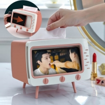 Retro Style Television Shaped Tissue Box