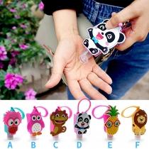 Cute Style 3D Cartoon Pattern Traveling Hand Sanitizer Bottle
