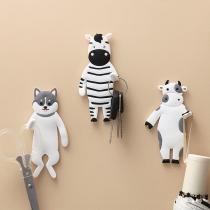 Cute Cartoon Animal Shape Hook  4 Piece/Set