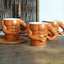 Creative Style Macho Man Muscle Ceramic Mug