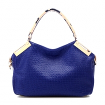 Gorgeous Stylish Diamond Check Emboss Handbag Shoulder Bag